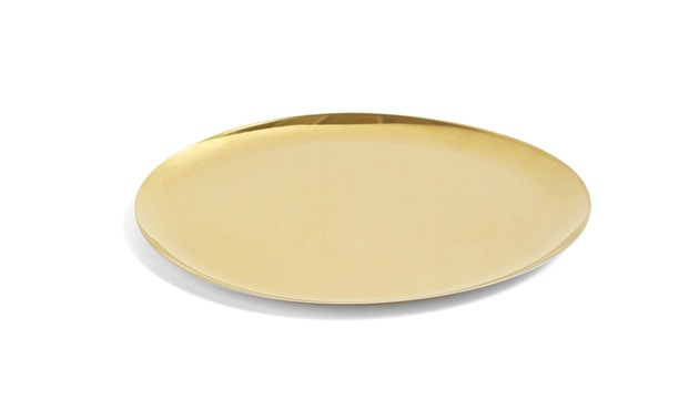 HAY - serving Tray Tablett - gold - XL - 1