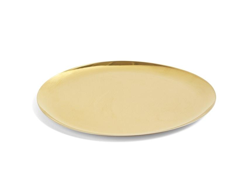 HAY - serving Tray Tablett - gold - XL - 1