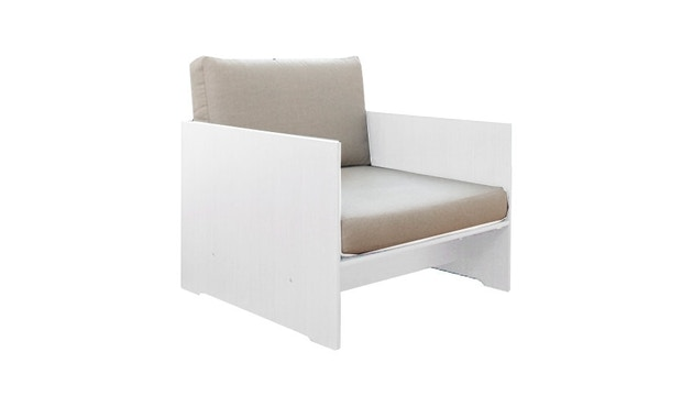 Conmoto - Sessel Riva Lounger - wit - 1