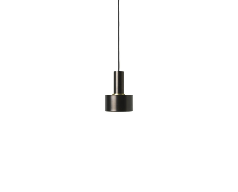 ferm LIVING - Collect Lighting - Disc - messing schwarz - 10