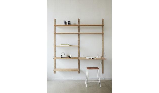 Shelf Library Double