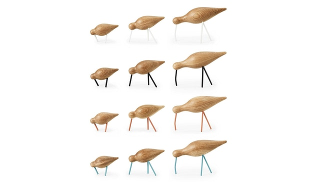 Normann Copenhagen - Shorebird - L - schwarz - 8