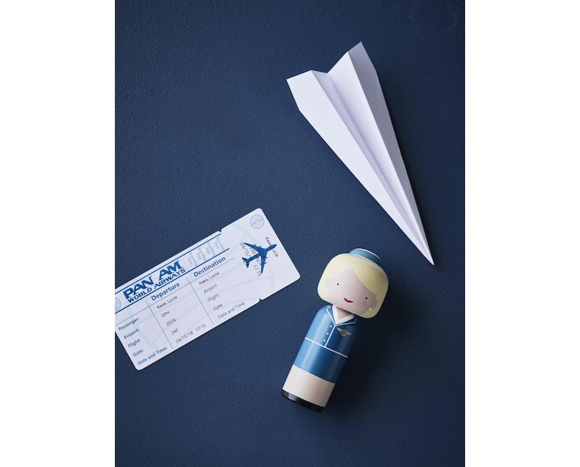 Pan Am - Sketch.inc Kokeshi Figur