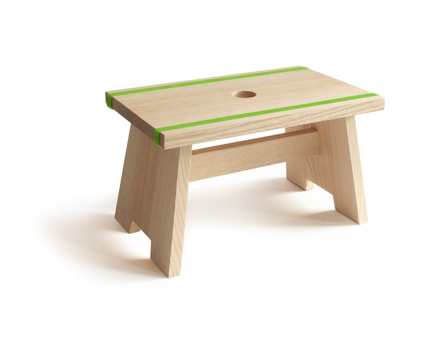 SIDE by SIDE - Voetenbank Little Stool - groen - 1