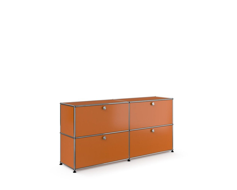 USM Haller - Sideboard M - 4 battants - 26 orange pur - 9