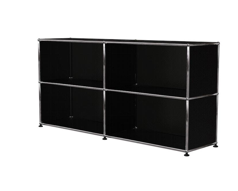 USM Haller - Sideboard M - open - 30 grafietzwart - 0