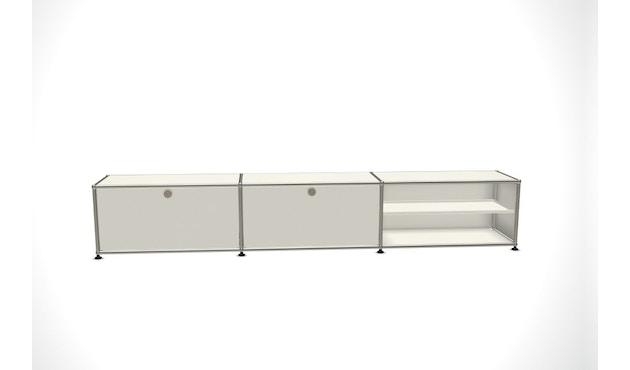 USM Haller - Sideboard L - 2 Klappen und 2 Fächer - reinweiß - 0