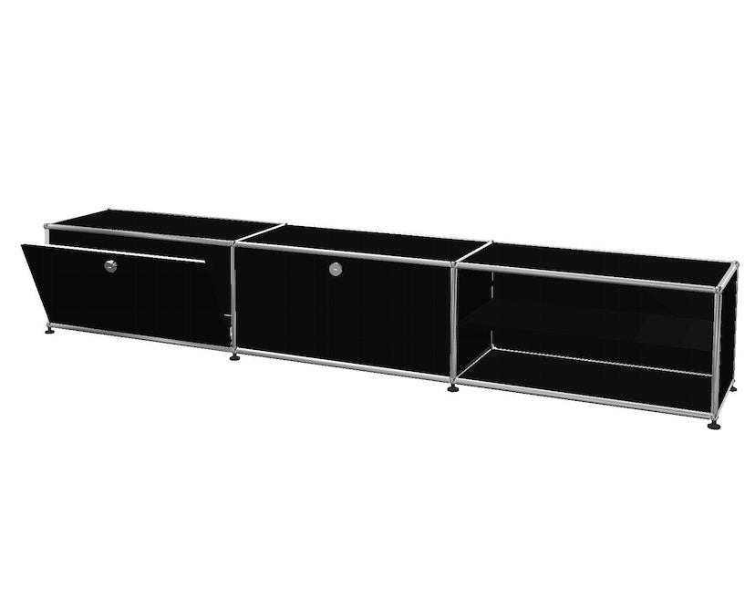 Lowboard 3 x 1 - 2 Klappen und 1 Zwischenboden