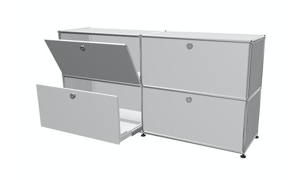 Sideboard 2 x 2 - Klappen und Auszüge