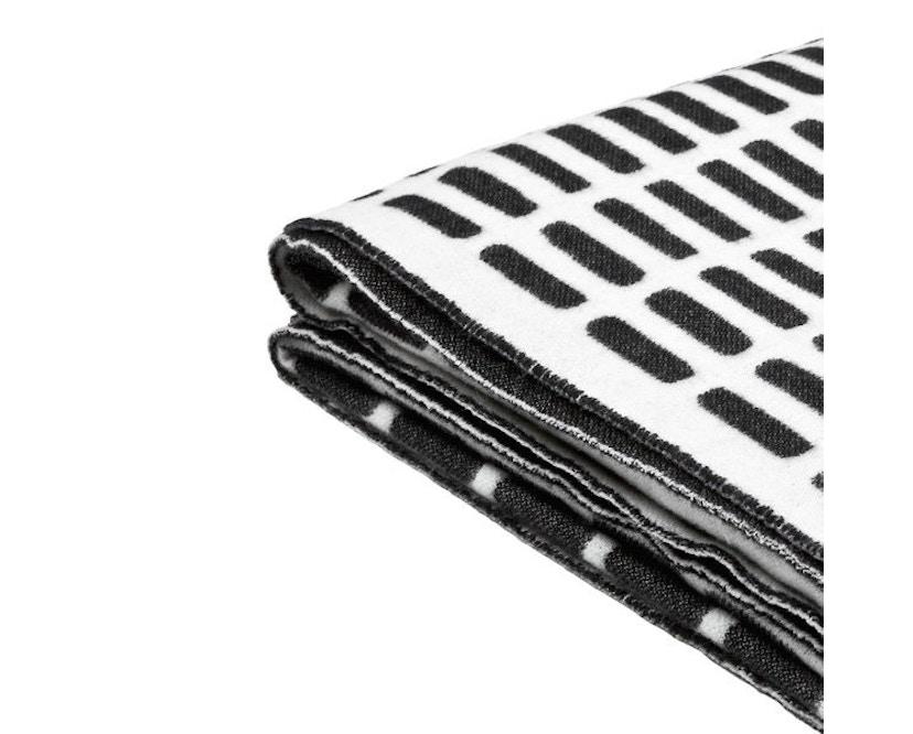 Artek - Siena deken - wit/zwart - 3