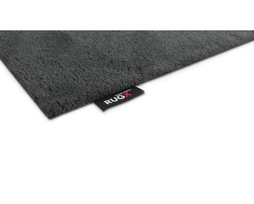 OBJECT CARPET - RUGX SILKY SEAL 1200 Teppich - 1218 graphit - 150 x 200 cm - Umrandung: Konfektioniert - Rechteck - 1