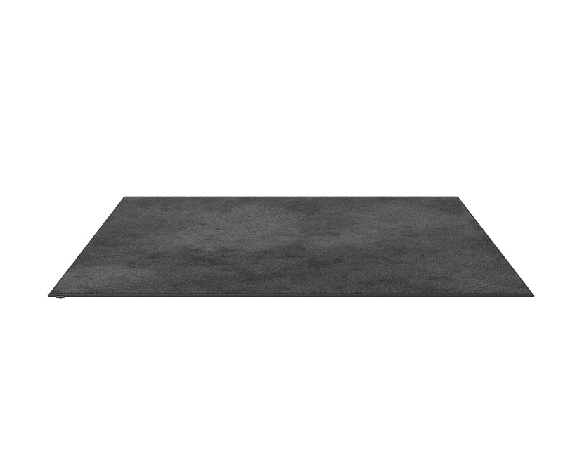 OBJECT CARPET - RUGX SILKY SEAL 1200 Teppich - 1218 graphit - 150 x 200 cm - Umrandung: Baumwolle B 8467 schmal 2,5cm - Rechteck - 0