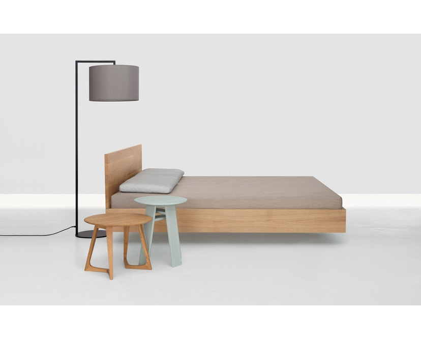 Zeitraum - Simple Hi Bett - Esche - 100 x 200 cm - Höhe Kopfteil 67 cm - 2