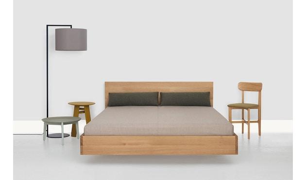 Zeitraum - Simple Hi Bett - Esche - 100 x 200 cm - Höhe Kopfteil 67 cm - 3