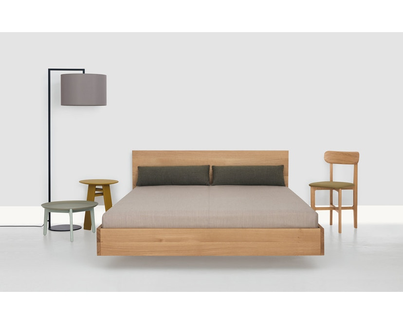 Zeitraum - Lit Simple Hi  - Frêne - 67 cm - 100 x 200 cm - 3