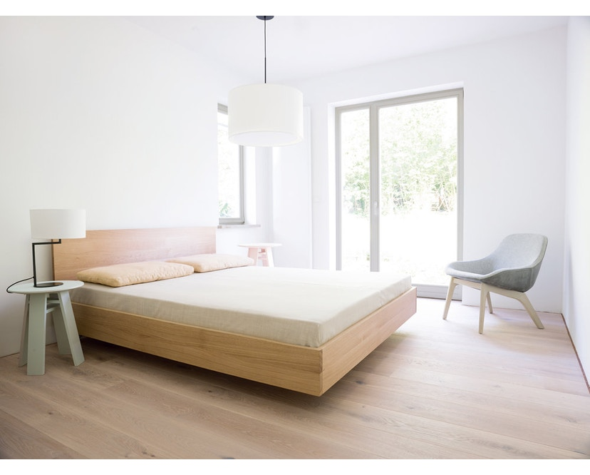 Zeitraum - Lit Simple Hi  - Frêne - 67 cm - 100 x 200 cm - 4