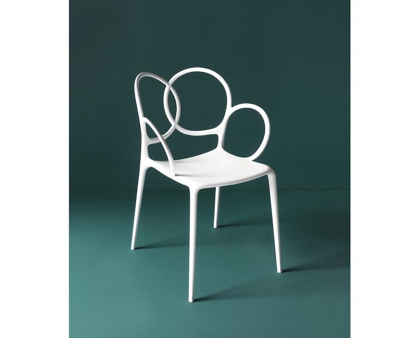 Driade - Sissi Armlehnstuhl - weiß - 5