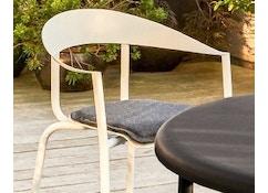 ALU MITO Auflage für Stuhl