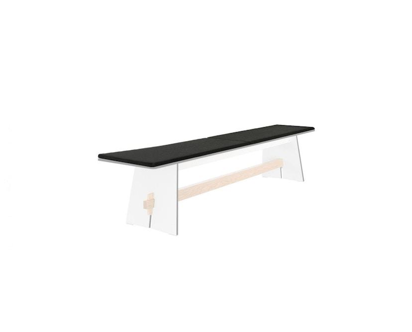 Conmoto - Sitzkissen für Tension Bank - anthrazit - 1