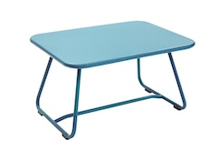 Fermob - Table basse SIXTIES - 16 bleu turquoise satiné - 4
