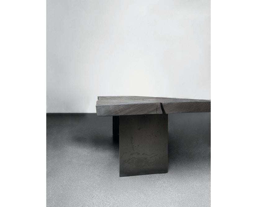 Janua - SK 01 Monolith Tisch - Eiche geköhlt/gekalkt geölt (grau) - 180 x 80 x 75 - 4