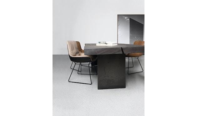 Janua - SK 01 Monolith Tisch - Eiche geköhlt, geölt (schwarz) - 180 x 90 x 75 - 4