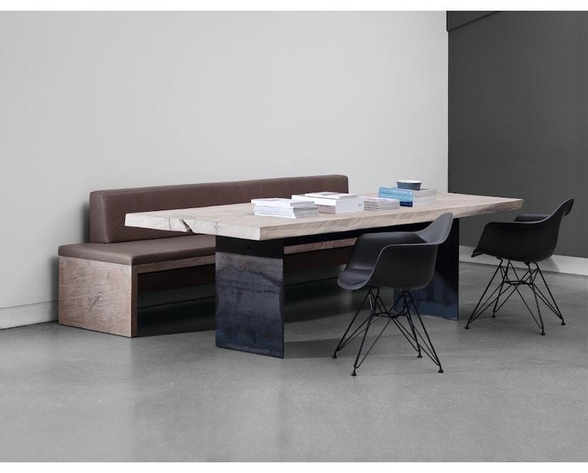 Janua - SK 01 Monolith Tisch - Eiche geköhlt, geölt (schwarz) - 180 x 90 x 75 - 5