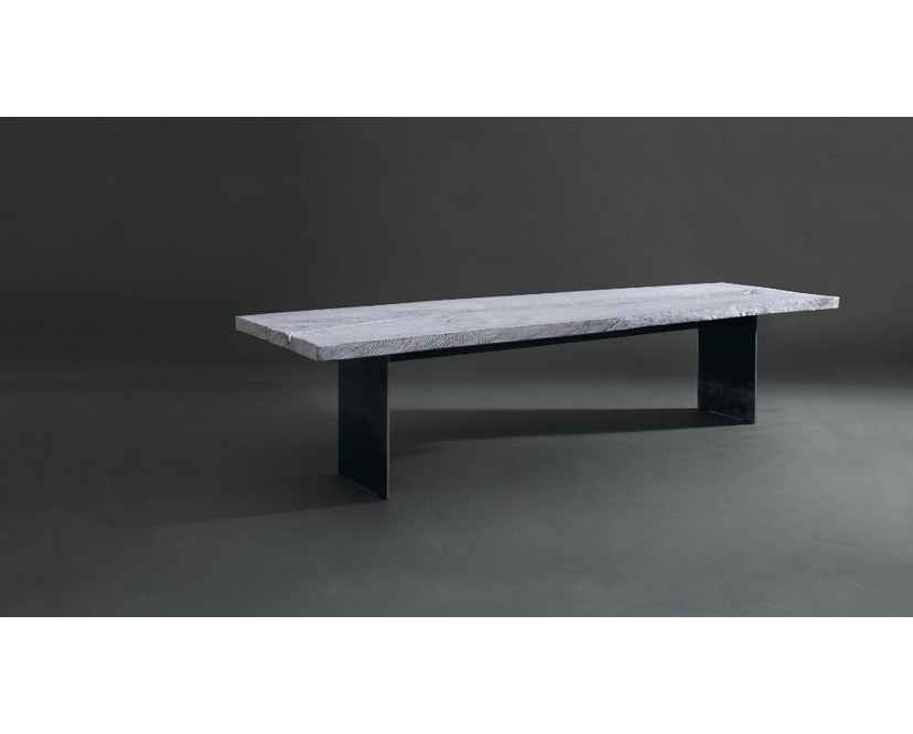 Janua - SK 01 Monolith Tisch - Eiche geköhlt, geölt (schwarz) - 180 x 90 x 75 - 7