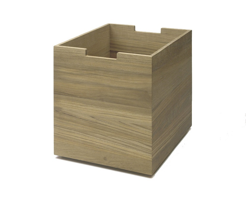 Skagerak - Cutter Box groß - Mit Rollen Eiche - 1