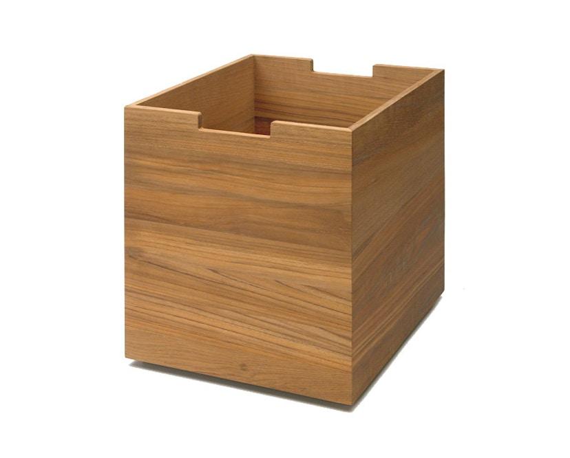 Skagerak - Cutter Box groß - Mit Rollen Teak - 1