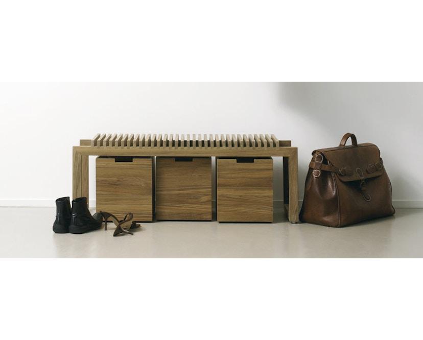 Skagerak - Cutter Box groß - Mit Rollen Teak - 4