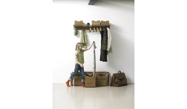 Skagerak - Cutter Box groß - Mit Rollen Teak - 5