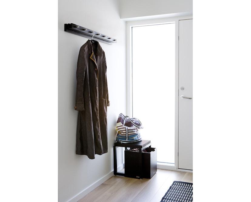 Skagerak - Cutter Kleiderleiste 100 - schwarz/Edelstahl - 5