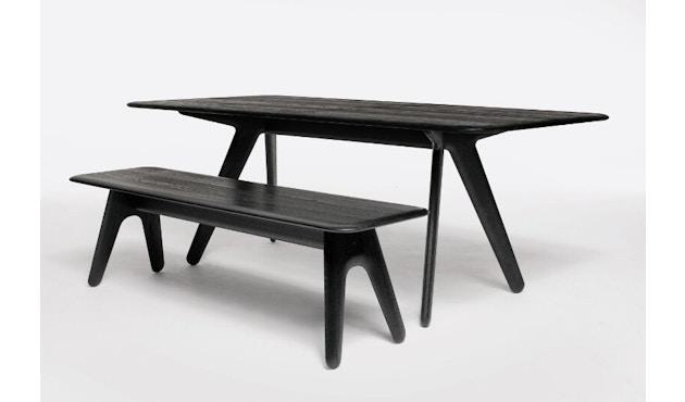 Tom Dixon - Slab eettafel - zwart - 3