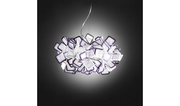SLAMP - Clizia Suspension lamp - violet - 3