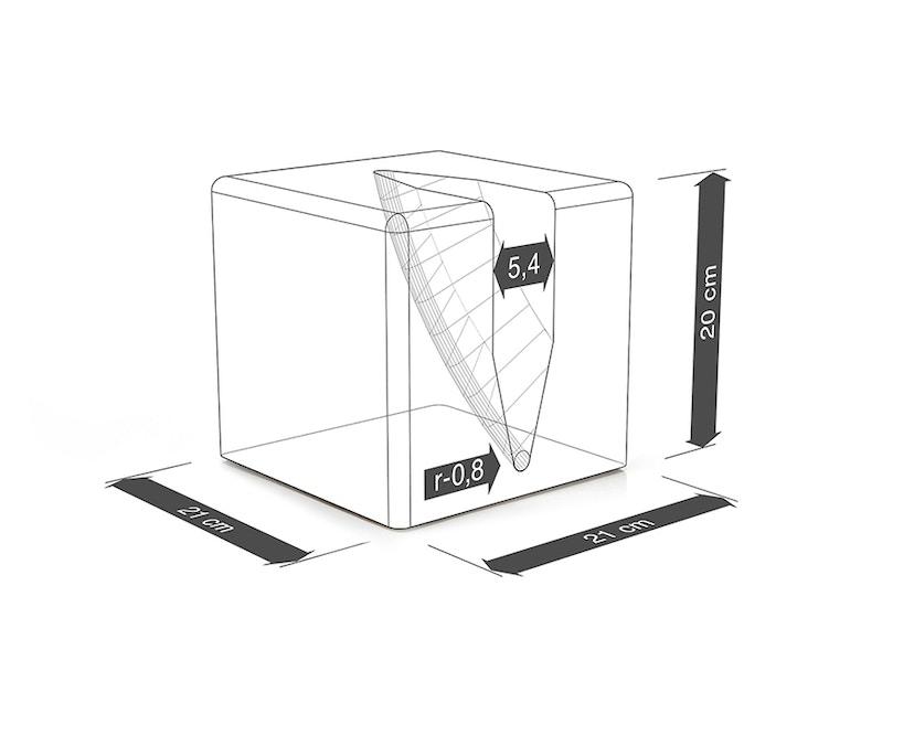 Urbanature - Bikeblock Fahrradständer - grau - 3