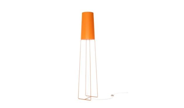 frauMaier - slimsophie Stehleuchte -  Schalter - orange - 1