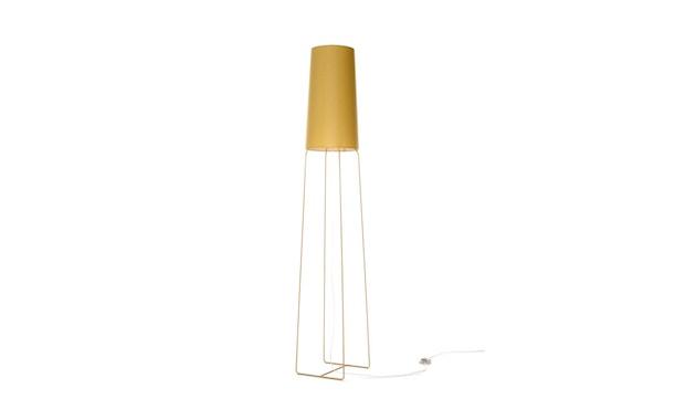 frauMaier - slimsophie vloerlamp - mosterdgoud - Voetschakelaar - 1
