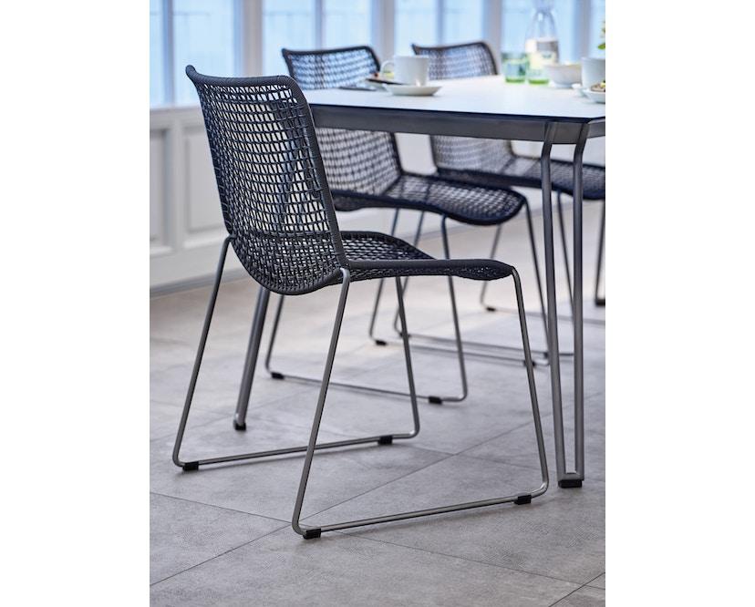 Weishäupl - Slope Tisch - rechteckig - Metallbeine - 2