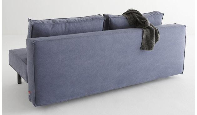 Innovation - Sly Schlafsofa - Dess. 525 blaugrau - Beine grau - 2