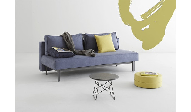 Innovation - Sly Schlafsofa - Dess. 525 blaugrau - Beine grau - 3