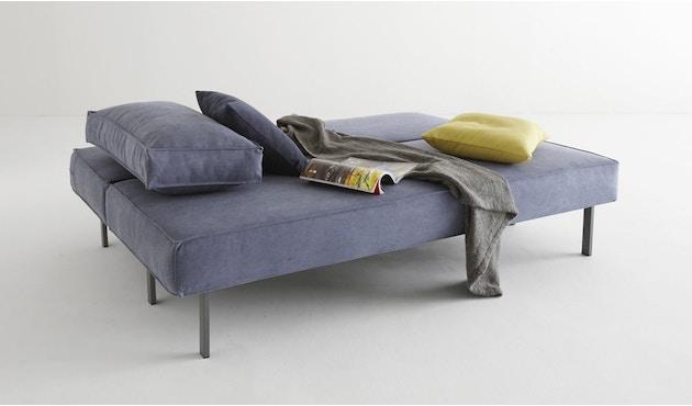 Innovation - Sly Schlafsofa - Dess. 525 blaugrau - Beine grau - 5