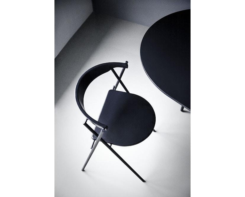 Menu - Snaregade Tisch - schwarz - oval - 2