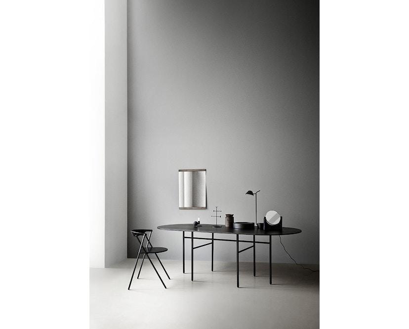 Menu - Snaregade Tisch - schwarz - oval - 3