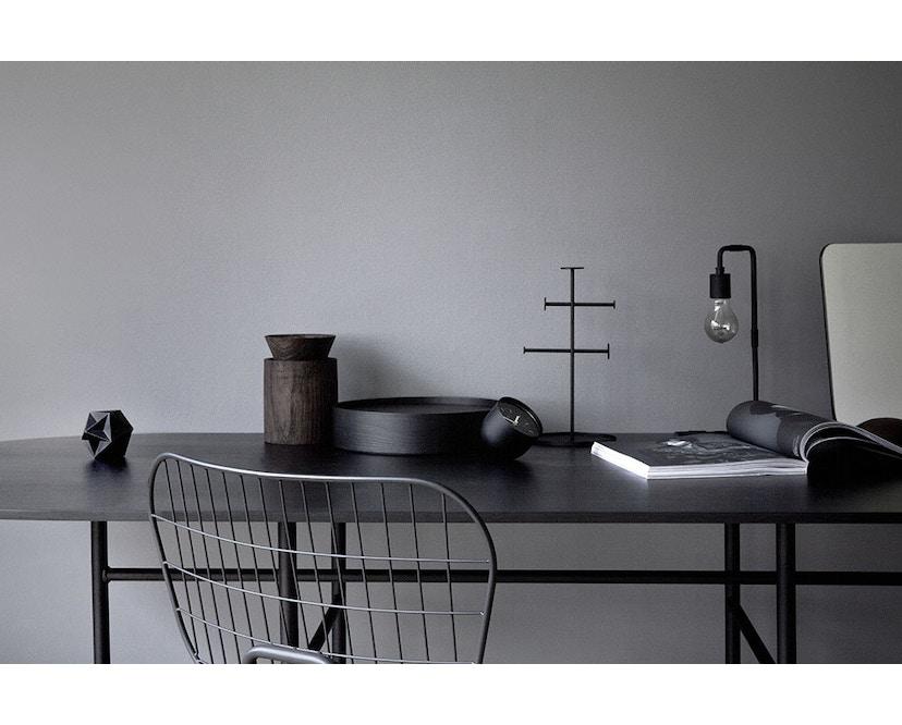 Menu - Snaregade Tisch - schwarz - oval - 4