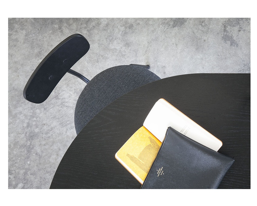 Menu - Snaregade Tisch - schwarz - oval - 8