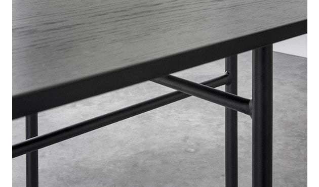 Menu - Snaregade Tisch - schwarz - oval - 9
