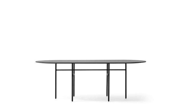 Menu - Snaregade Tisch - schwarz - oval - 1
