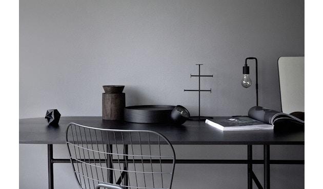 Menu - Snaregade Tisch - schwarz - rund 120 cm - 4