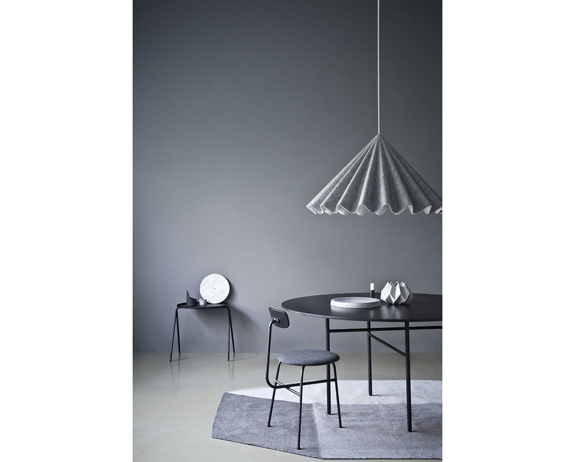 Menu - Snaregade Tisch - schwarz - rund 120 cm - 6